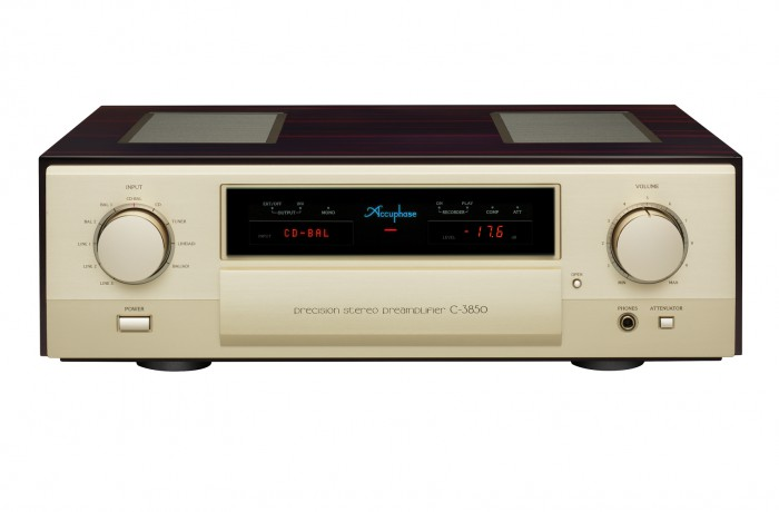 Accuphase C-3850电晶体前级式放大器
