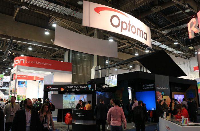 奥图码推出一款民用DLP 4K投影机