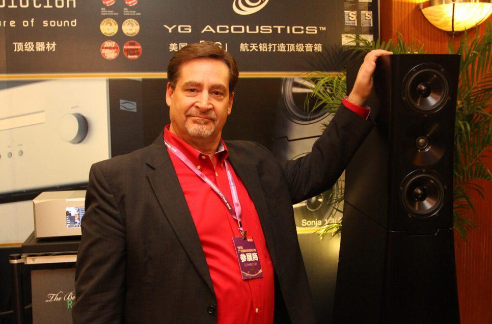 访美国YG Acoustics市场及销售总监Dick Diamond先生