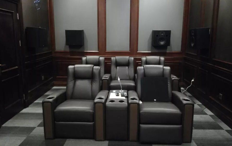 密不透风的连贯声场!9.2.4全美系打造小空间完美影院典范