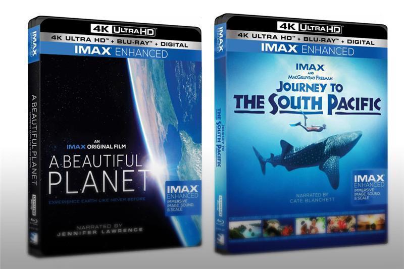 首批IMAX Enhanced 格式的4K蓝光碟发布,支持 HDR10+