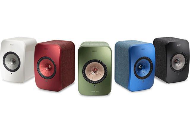 LS50 Wireless音箱小型化, KEF推出LSX无线音箱系统
