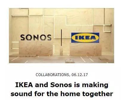 Sonos将携手IKEA设计智能音箱Symfonisk