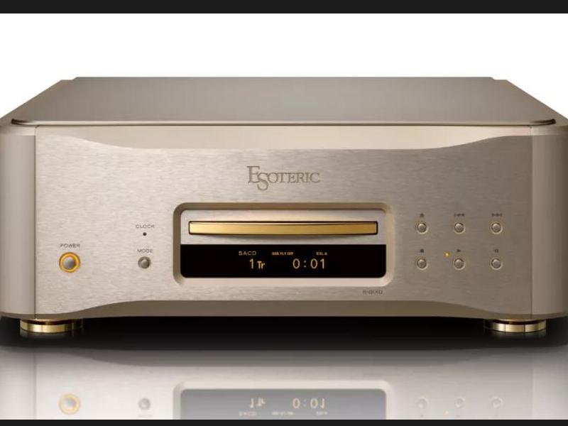 百分之一的尊贵享受,你会珍惜吗?Esoteric K-01XD(金色限量版)SACD/CD播放器