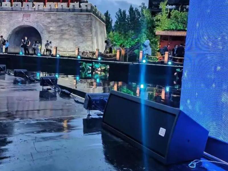 月亮城上的全景声舞台!KV2audio&PEAVEY闪耀2021央视总台中秋晚会