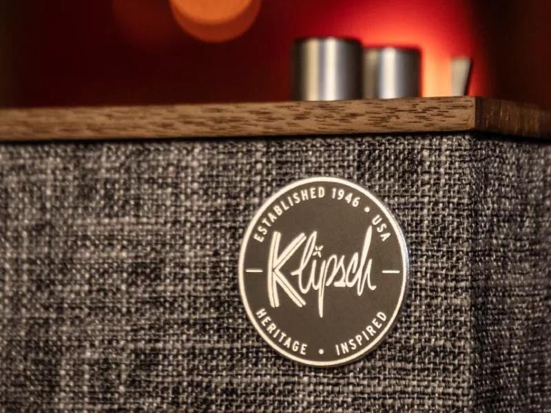 复古轻奢,无线的艺术格调 Klipsch The Three Ⅱ蓝牙扬声器